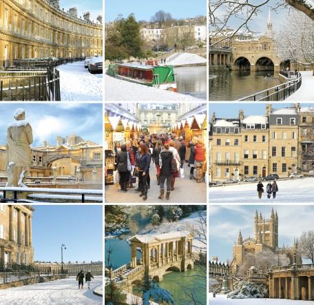 Bath in Winter GC105